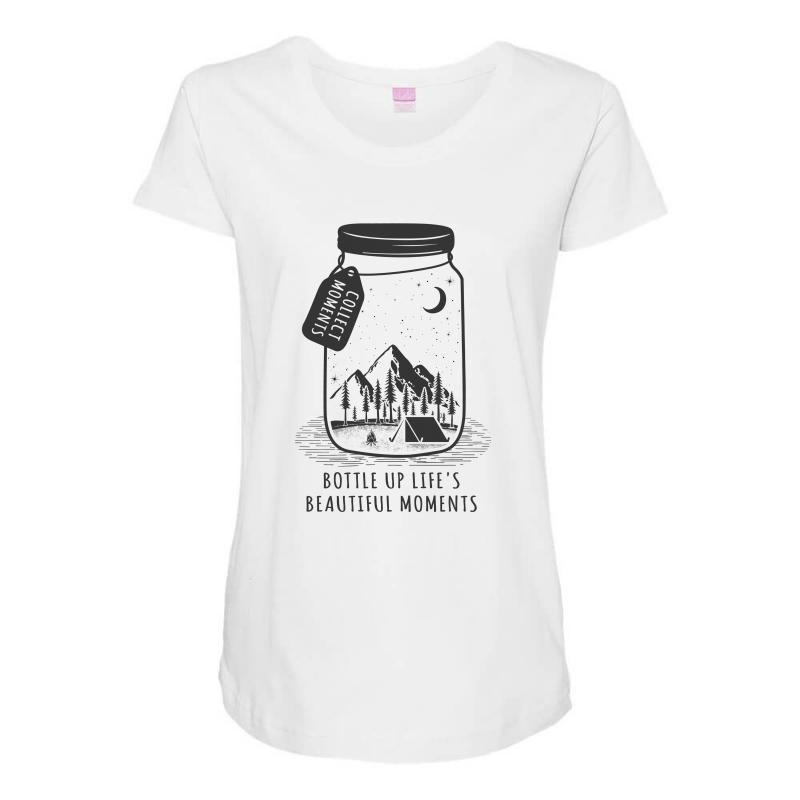 Collect Moments Maternity Scoop Neck T-shirt | Artistshot