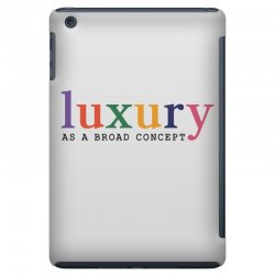 Luxury As A Croad Concept iPad Mini Case | Artistshot