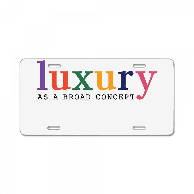 Luxury As A Croad Concept License Plate | Artistshot