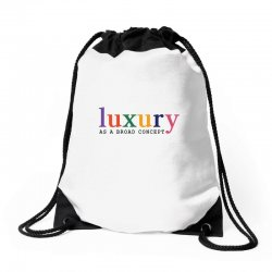 Luxury As A Croad Concept Drawstring Bags | Artistshot