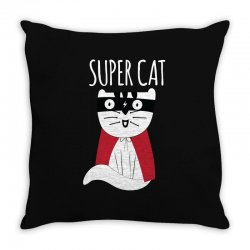 Super Cat Throw Pillow | Artistshot