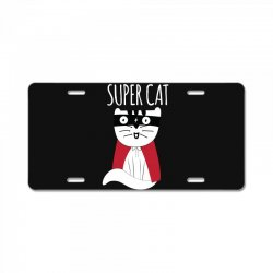 Super Cat License Plate | Artistshot