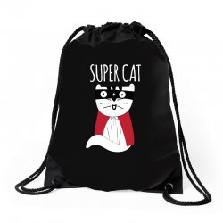Super Cat Drawstring Bags | Artistshot