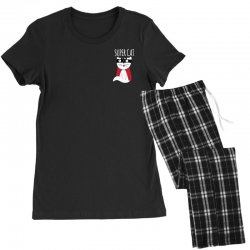 Super Cat Women's Pajamas Set | Artistshot