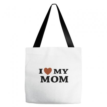 I Love My Mom Tote Bags Designed By Megaagustina
