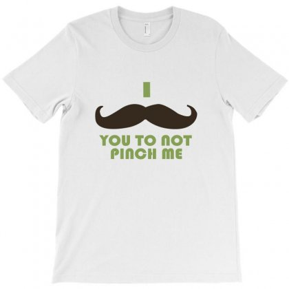 Mustache Pinch T-shirt Designed By Megaagustina