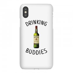 Drinking Buddies Milk and Jameson Whiskey iPhoneX Case | Artistshot