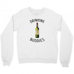 Drinking Buddies Milk and Jameson Whiskey Crewneck Sweatshirt | Artistshot