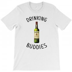 Drinking Buddies Milk and Jameson Whiskey T-Shirt | Artistshot