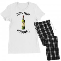 Drinking Buddies Milk and Jameson Whiskey Women's Pajamas Set | Artistshot