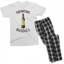 Drinking Buddies Milk and Jameson Whiskey Men's T-shirt Pajama Set | Artistshot
