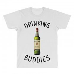 Drinking Buddies Milk and Jameson Whiskey All Over Men's T-shirt | Artistshot
