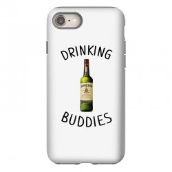 Drinking Buddies Milk and Jameson Whiskey iPhone 8 Case | Artistshot