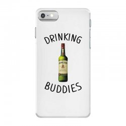 Drinking Buddies Milk and Jameson Whiskey iPhone 7 Case | Artistshot