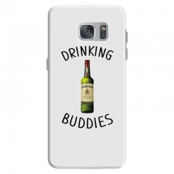 Drinking Buddies Milk and Jameson Whiskey Samsung Galaxy S7 Case | Artistshot