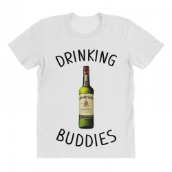 Drinking Buddies Milk and Jameson Whiskey All Over Women's T-shirt | Artistshot