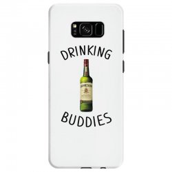 Drinking Buddies Milk and Jameson Whiskey Samsung Galaxy S8 Case | Artistshot