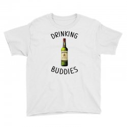 Drinking Buddies Milk and Jameson Whiskey Youth Tee | Artistshot