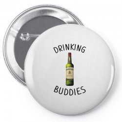 Drinking Buddies Milk and Jameson Whiskey Pin-back button | Artistshot