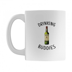 Drinking Buddies Milk and Jameson Whiskey Mug | Artistshot