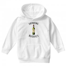 Drinking Buddies Milk and Jameson Whiskey Youth Hoodie | Artistshot