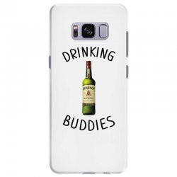 Drinking Buddies Milk and Jameson Whiskey Samsung Galaxy S8 Plus Case | Artistshot