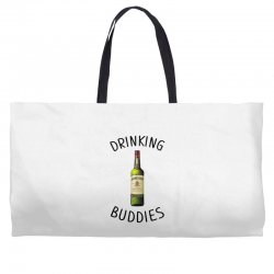 Drinking Buddies Milk and Jameson Whiskey Weekender Totes | Artistshot