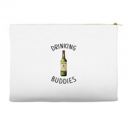 Drinking Buddies Milk and Jameson Whiskey Accessory Pouches | Artistshot