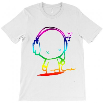 Colorful Music Man T-shirt Designed By Kasemdesign
