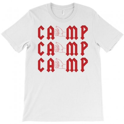 Camp Hitchhiking T-shirt Designed By Ofutlu