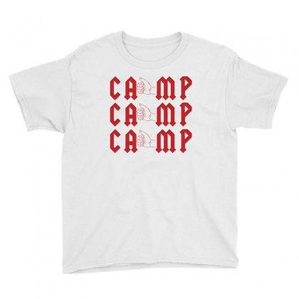 Camp Hitchhiking Youth Tee Designed By Ofutlu