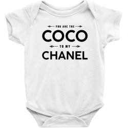 69d5ad854 Custom You Are The Coco To My Chanel Baby Bodysuit By Bigdlab ...