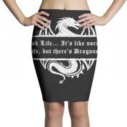 geek life Pencil Skirts | Artistshot