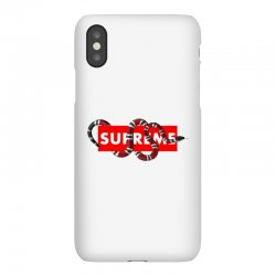 Supreme Hypebeast with Snake iPhoneX Case | Artistshot
