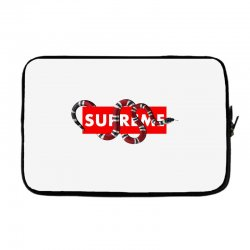Supreme Hypebeast with Snake Laptop sleeve | Artistshot