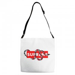 Supreme Hypebeast with Snake Adjustable Strap Totes | Artistshot