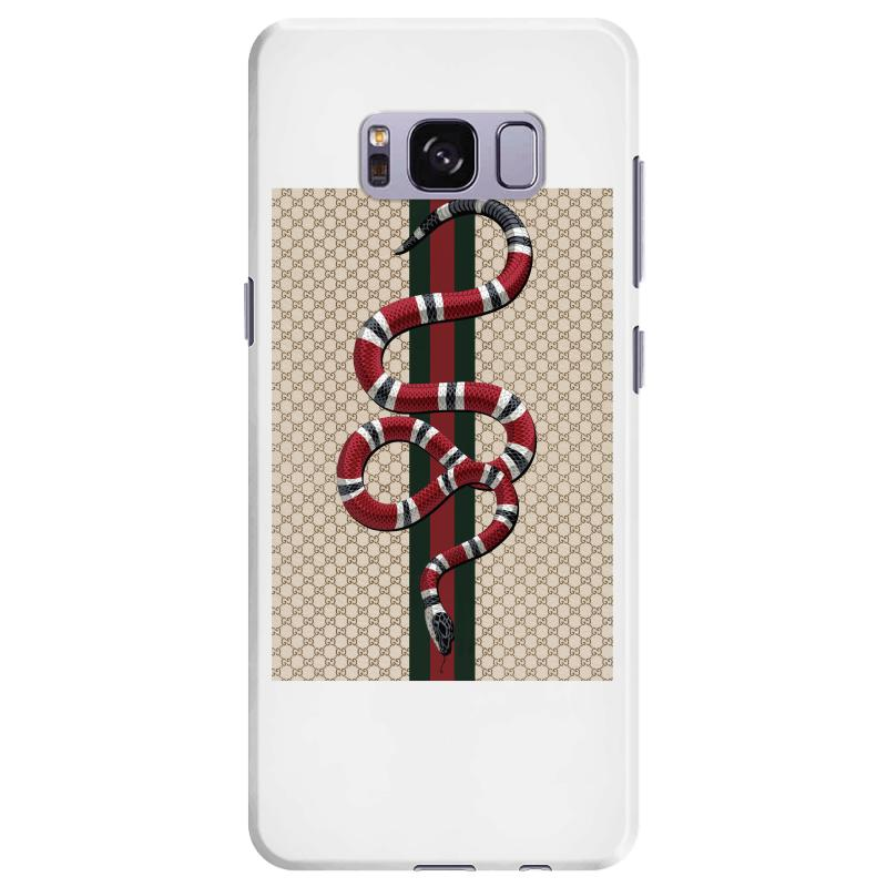 on sale c9437 0ce76 Gucci Pattern And Snake Samsung Galaxy S8 Plus Case. By Artistshot