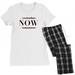 Yesterday Now Tomorrow Women's Pajamas Set | Artistshot