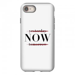 Yesterday Now Tomorrow iPhone 8 Case | Artistshot