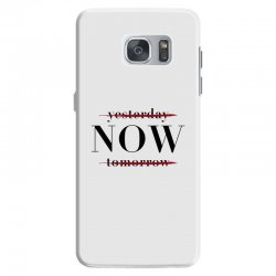 Yesterday Now Tomorrow Samsung Galaxy S7 Case | Artistshot