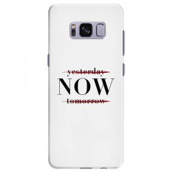 Yesterday Now Tomorrow Samsung Galaxy S8 Plus Case | Artistshot