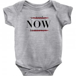 Yesterday Now Tomorrow Baby Bodysuit | Artistshot