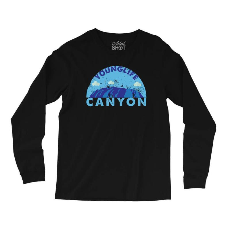 Young Life Canyon Long Sleeve Shirts  By Artistshot