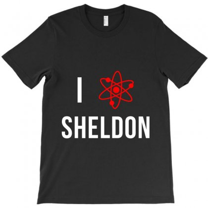 I Heart Sheldon T-shirt Designed By Karlangas