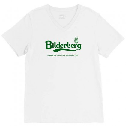 Bilderberg V-neck Tee Designed By Karlangas