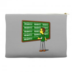 blackboard theory Accessory Pouches | Artistshot