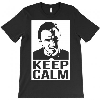 Keep Call Mr Wolf T-shirt Designed By Karlangas