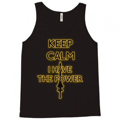 Keep Have The Power Tank Top Designed By Karlangas