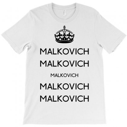 Keep Malkovich T-shirt Designed By Karlangas
