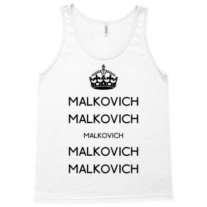 Keep Malkovich Tank Top Designed By Karlangas